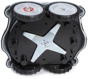 Von Unten - Mähroboter Zucchetti W08 Blitz Wiper Robot