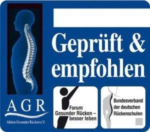 Geprüft und empfholen von AGR