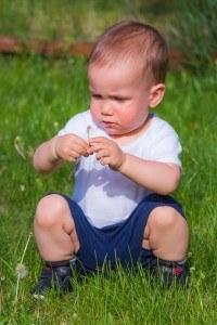 Kindersicherung von Rasenmähern