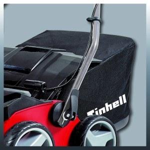 Einhell Benzin Vertikutierer/Lüfter GE-SA 1335 P (1300 W, 35 cm Arbeitsbreite, bis 9 mm Arbeitstiefe, 28 l Fangsack, empfohlen bis 1000 m²)