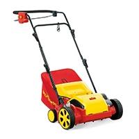 Arbeitsbreite: 30 cm, Motor: 1.300 W-Motor, Arbeitstiefeneinstellung: Zentral 5-fach;3 in 1: Moosrechen, Vertikutierer und Fangsack-
