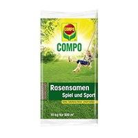 COMPO Saatgutbehandlung mit BIO Turbo für eine sichere und gesunde Keimung und Etablierung.