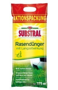 Substral Rasen-Dünger m. Langzeitwirkung 375 m² - 7,5 kg