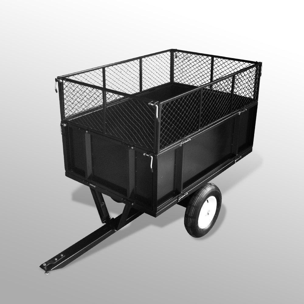 anhaenger fuer aufsitzmaeher rasentraktor kippbar 300 kg. Black Bedroom Furniture Sets. Home Design Ideas
