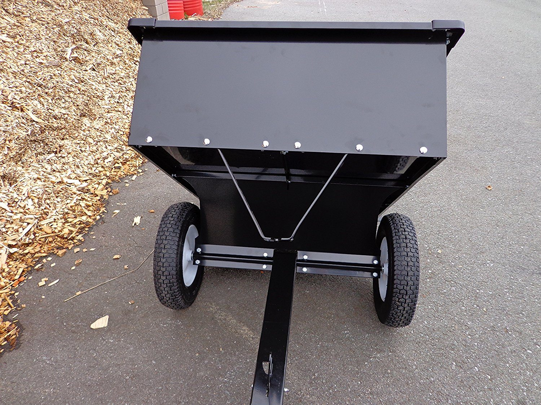haenger anhaenger fuer rasentraktor kipper 225 kg nutzlast. Black Bedroom Furniture Sets. Home Design Ideas