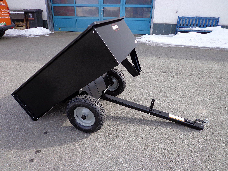 haenger anhaenger fuer rasentraktor kipper 500 kilo neu. Black Bedroom Furniture Sets. Home Design Ideas