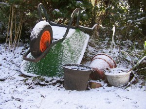 Winter-Schubkare
