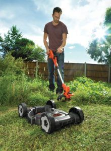 Black+Decker 3-in-1 Multi-Trimmer-Kit