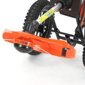 FUXTEC Benzin Motorsense auf Rädern